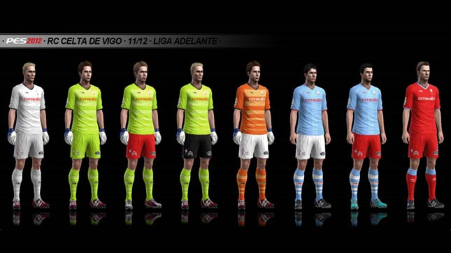 Kits RC Celta de Vigo 11/12 by Txak