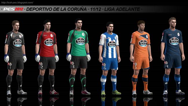 Deportivo de La Coruña 11/12 Kit-Set by Txak