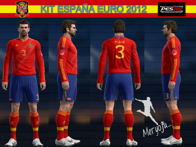 Kit Home España Euro 2012 by meryoju