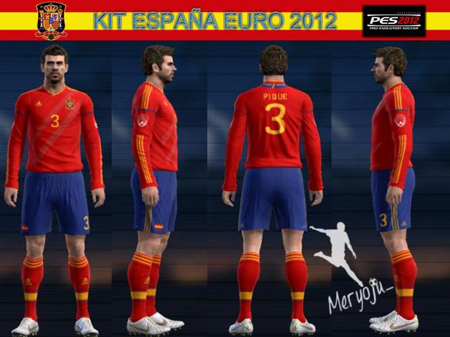 Kit Home España Euro 2012 by meryoju
