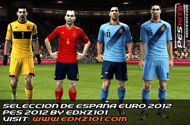 Seleccion de España EURO 2012 v2 by edxz101