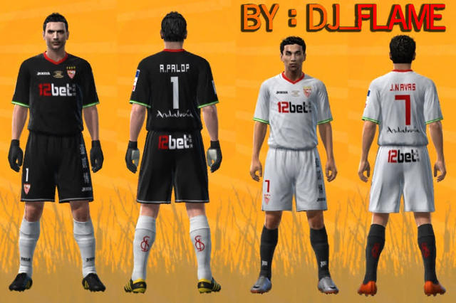 Kits Sevilla FC Final Copa Del Rey 2010 by DJ_FLAME