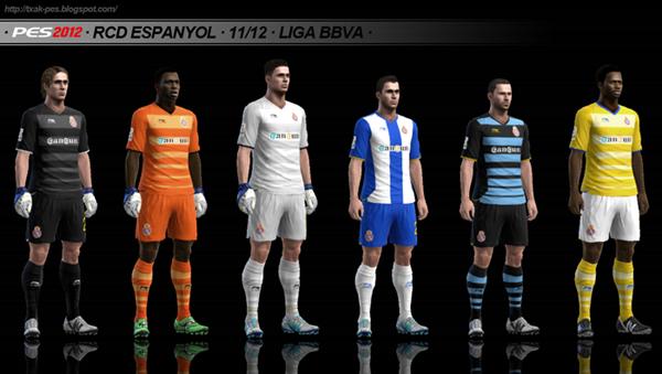 Kits Espanyol 11/12 GDB by Txak