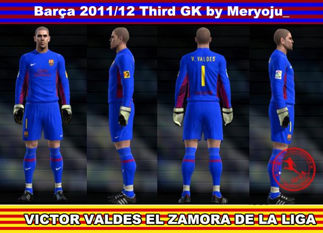 Third GK Barça 2011/12 By Meryoju_