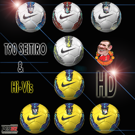 Ballpack T90 SEITIRO + Hivis en HD by Skills_Rooney