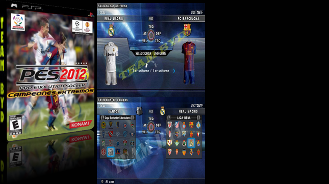 PES 12 CAMPEONES EXTREMOS by Team B&D