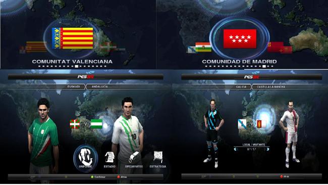 Parche Autonomicas + Sub21+ Liga Adelante by Valencianett