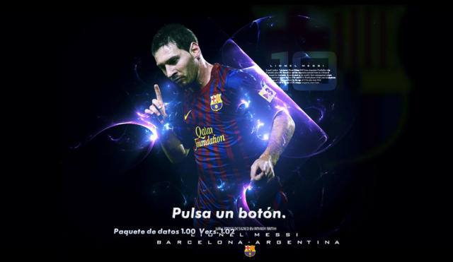 Pack con 5 Fondos de Lionel Messi by SECUN1972