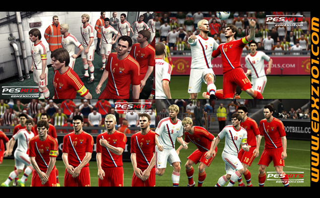 Russia EURO 2012 Kits by Edxz101