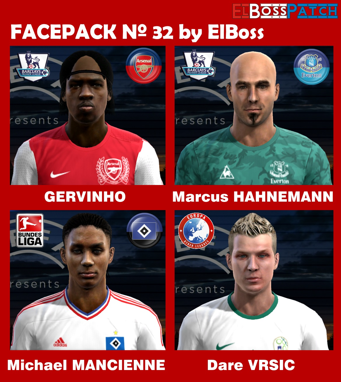 Faces Pack V32 by ElBoss