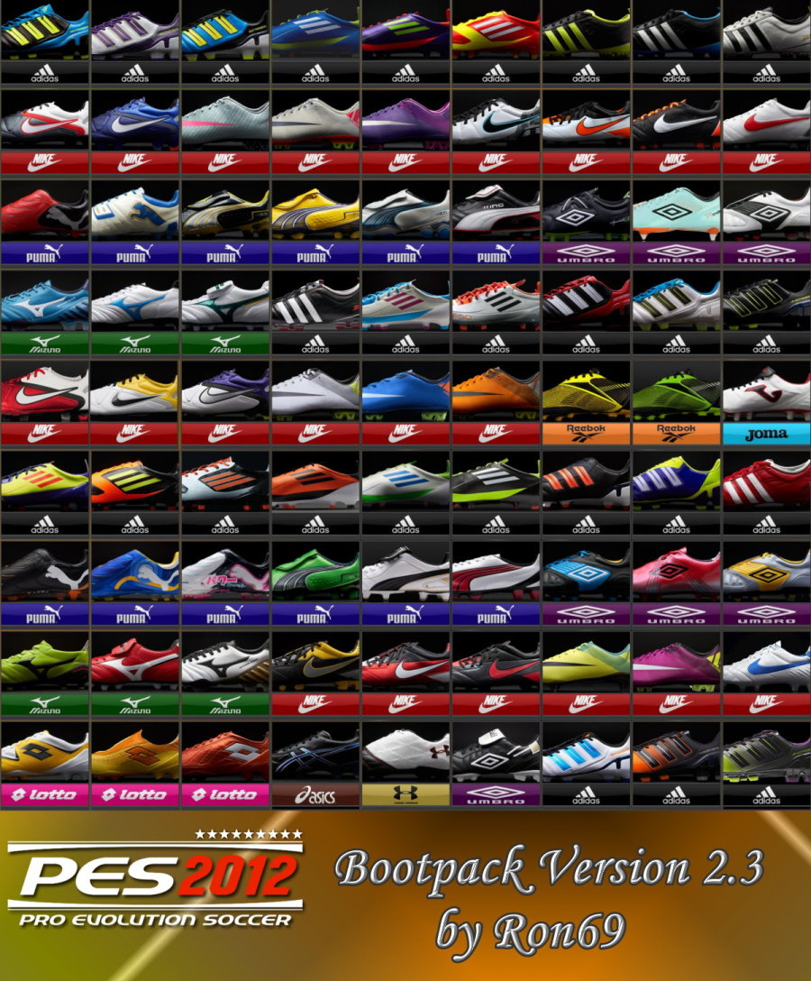 PES 2012 Bootpack Version 2.3 by Ron69