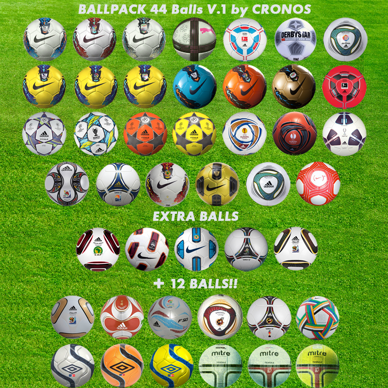 Ballpack 44 Balls V.1 By Cronos