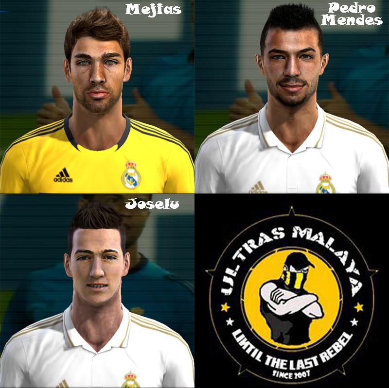 Real Madrid Facepack by zikri13