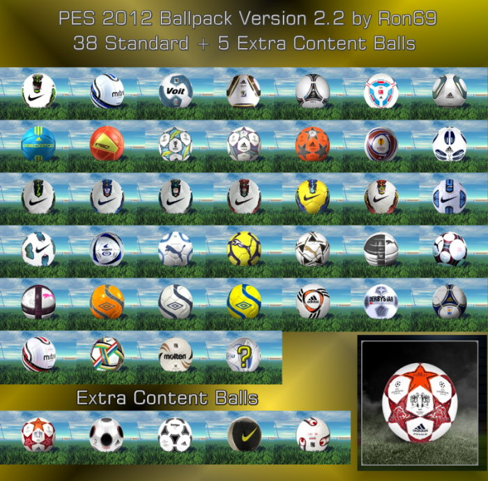 Ballpack Version 2.2 by Ron69