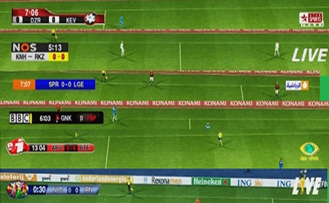 6 Scoreboards For PES2012 By NaderShah
