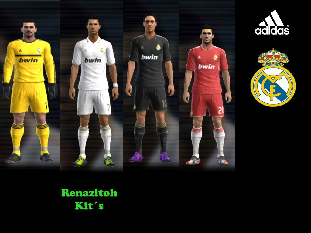 Kitset Real Madrid 2012-13 By Renazitoh