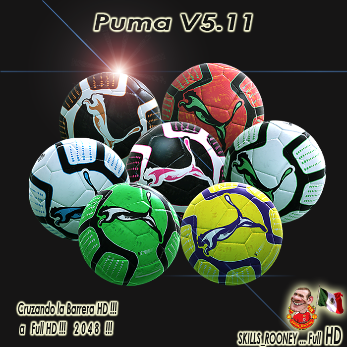 Packs Balones Full HD by skills_rooney