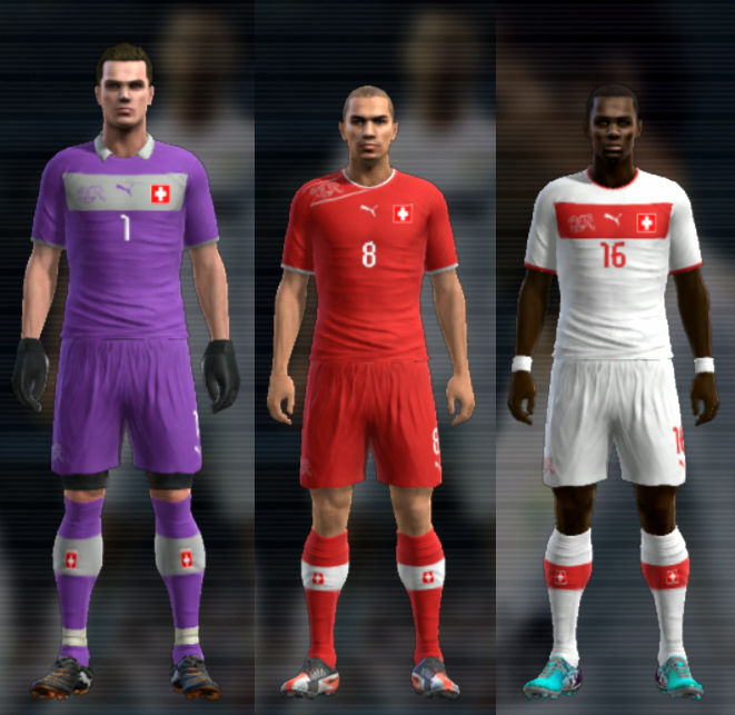 Switzerland 11-12 Kit Set by Cuky