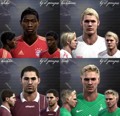Bundesliga Pack vol.1 by El Yorugua