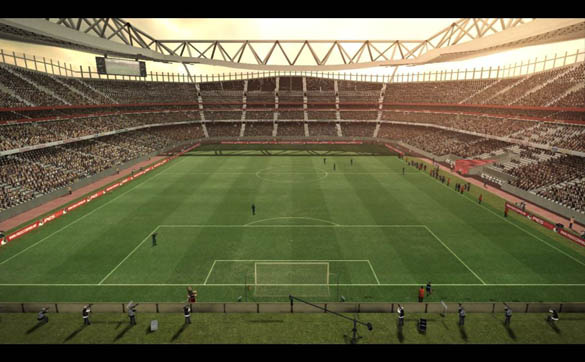 Emirates Stadium by Farkruko
