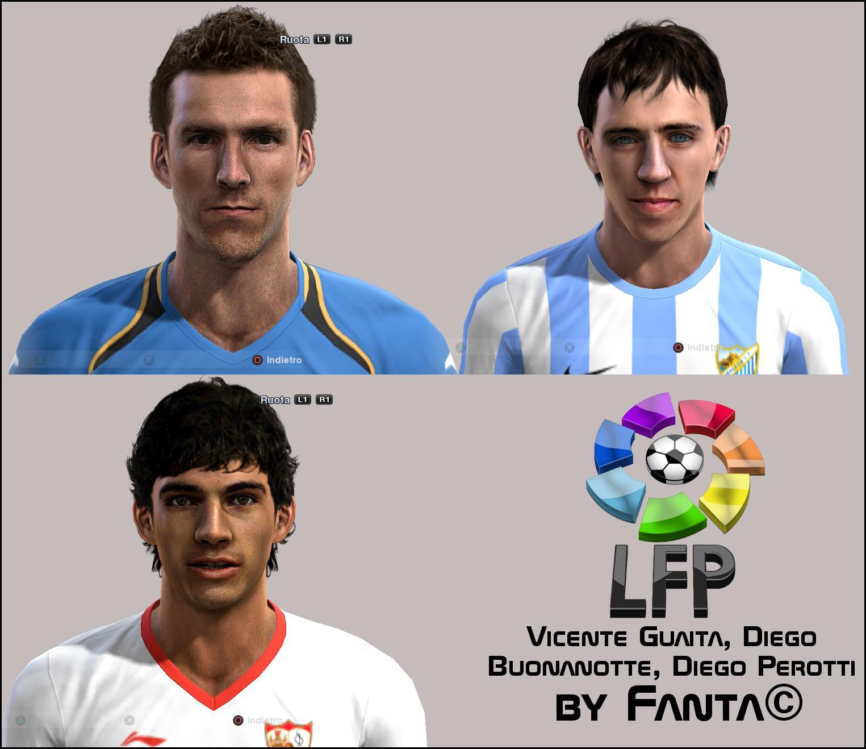 Liga BBVA Facepack PES2012 by Fanta