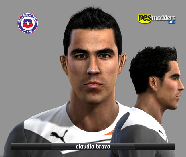 Claudio Bravo PES2012 Face by Xez