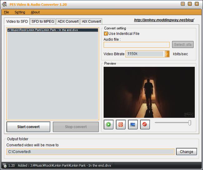 PES Video Converter v1.21 by jenkey1002