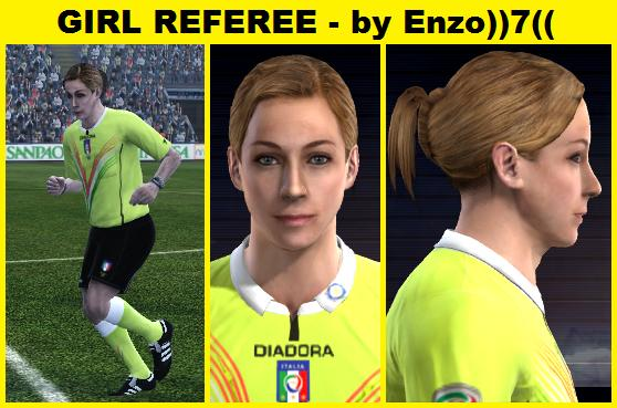 Girl Referee by Enzo7