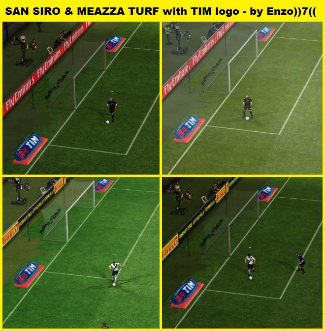 San Siro & Meazza TURF with TIM logo by Enzo))7((