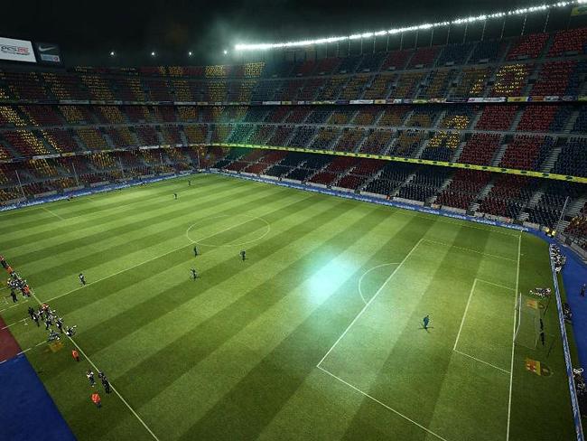Mosaico Testimo Barca para el Camp Nou by ivanmauricio_gomez