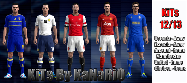 Kits pack 12/13 por KaNaRiO