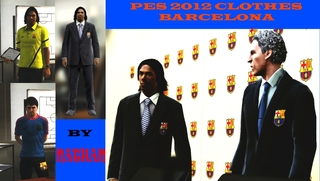 PES2012 Clothes BARCELONA by NATHAN