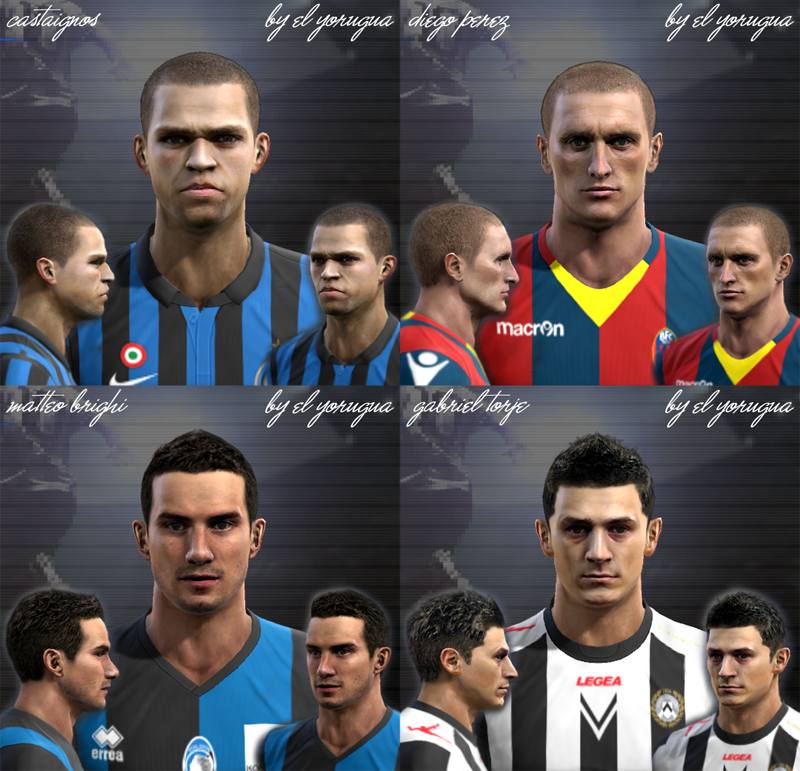 Serie A pack vol.1 Faces by El Yorugua