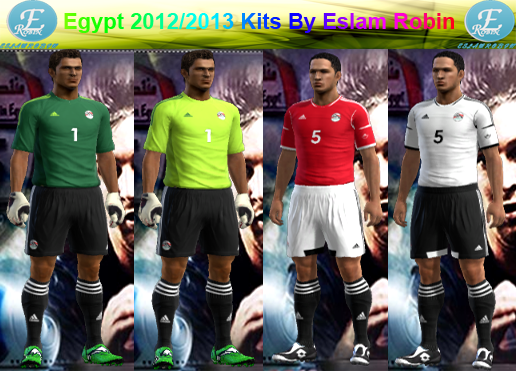 Egypt 2012/2013 Kits By Eslam Robin