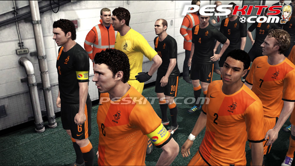 Kits Holanda EURO 2012 by Edxz101