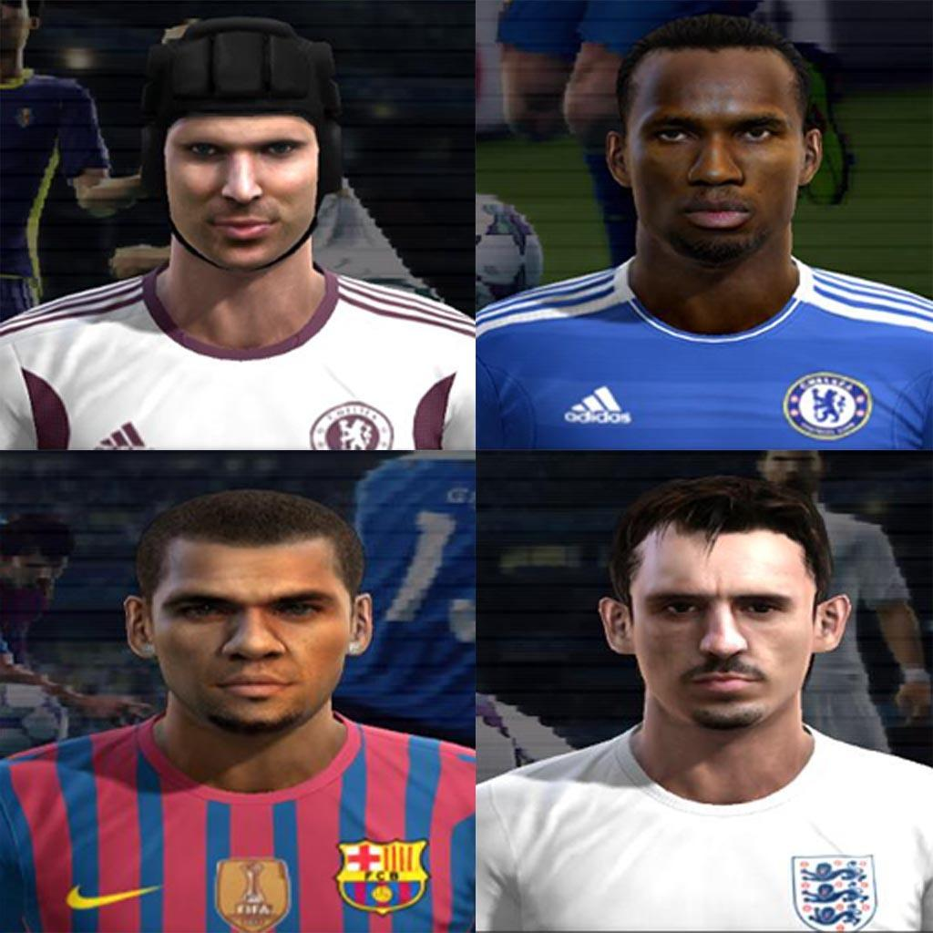 PES 2012 HD FacePack vol.2 by Earthza11