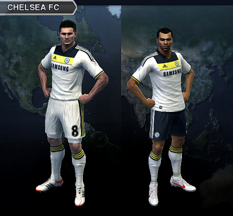 Kit Alternativo  Chelsea by ivanmauricio_gomez