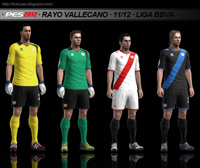 Rayo Vallecano 11/12 GDB by Txak