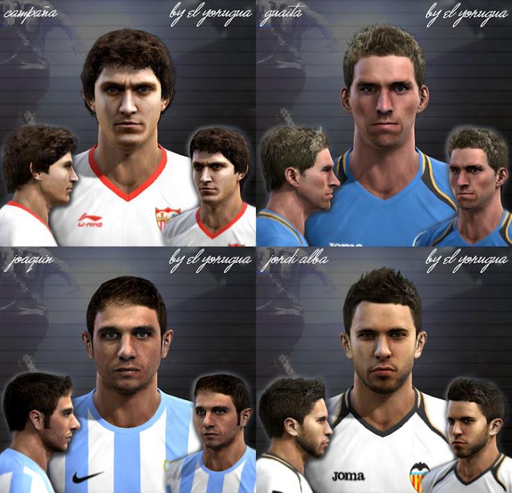 Liga BBVA Facepack by el yorugua