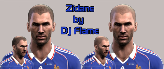 Zinedine Zidane Face by dj_flame