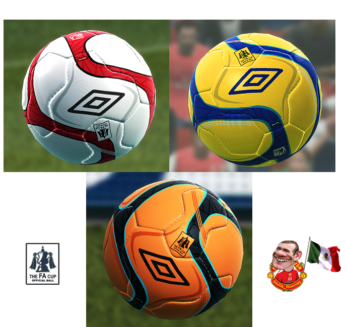 Balones Full HD P.1 / Prev. Nike MAXIM P28+Umbro FACup by skills_rooney