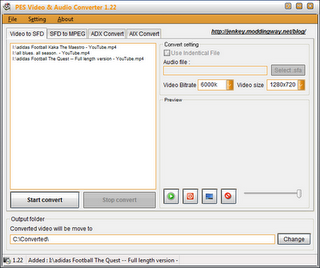 PES 2012 Video & Audio Converter v1.22 by jenkey1002