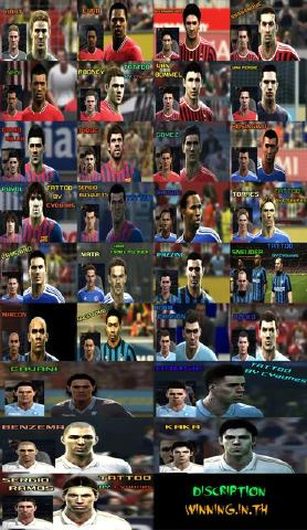 PES 2012 Special HD Facepack Vol.1 By Discription