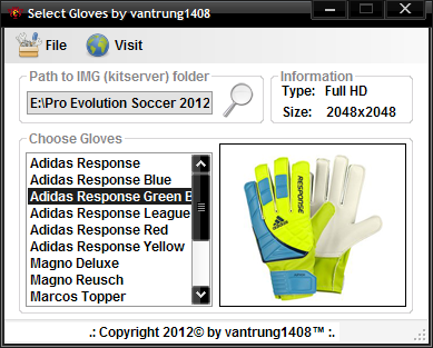 Select Gloves by vantrung1408