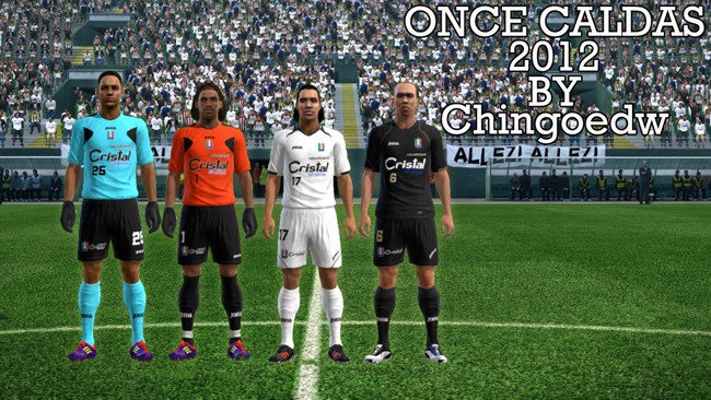 Once Caldas 2012 Kits by chingoedw