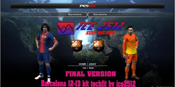 PES 2012 Barcelona 12-13 Techfit Full Gdb by ice2512