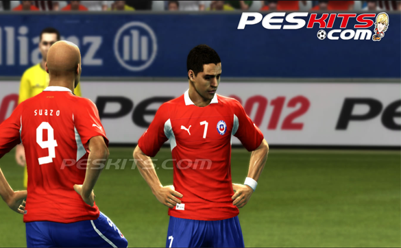 Kits Chile 2012/2014 by Edxz101