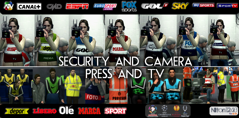Security ,camera ,Press and TV by Nilton1248