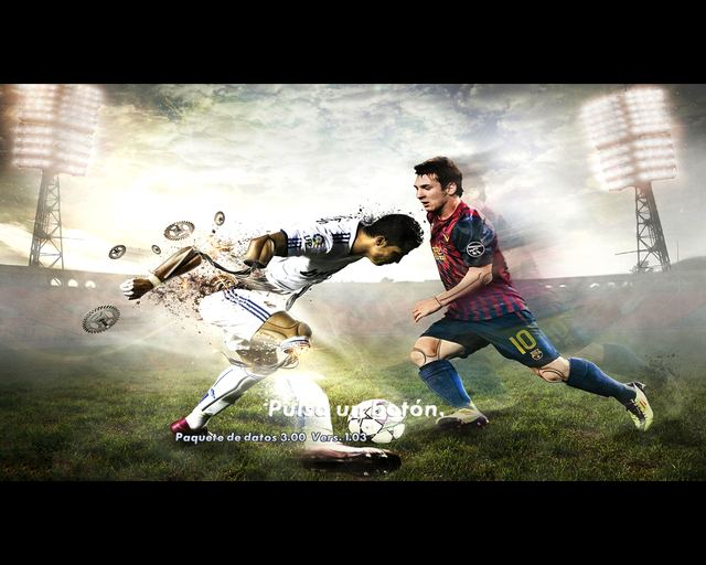 Fondo «Aprieta un boton CR7 vs Messi» adaptado by SECUN1972