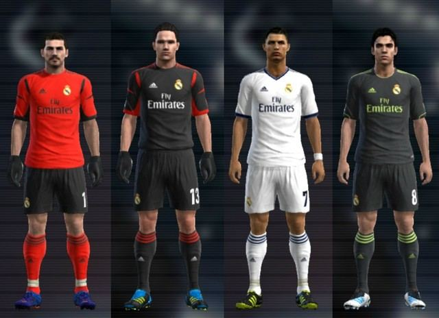 Real Madrid 2012/2013 Kits by Cuky